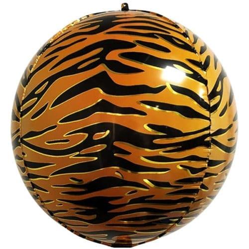 Шар 56 см Сфера 3D Анималистика Пятнистый окрас Тигр