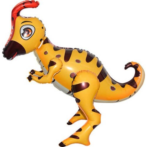 Шар 66 см Ходячая Фигура Динозавр Гадрозавр Светло-коричневый