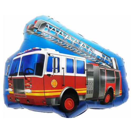 Шар 71 см Фигура Пожарная машина с лестницей
