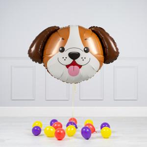 Комплект из шаров Милый Щенок и шары на пол