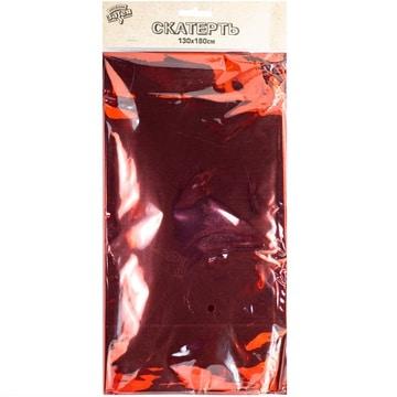 Скатерть фольга красная 130 х 180 см
