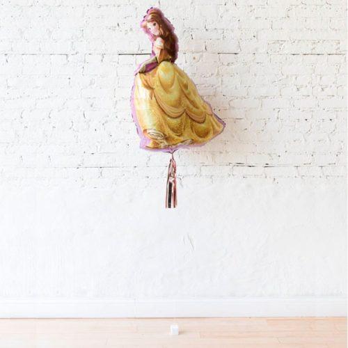 Фигура Принцесса Белль с кисточкой тассел на грузике