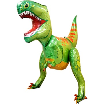 Шар 152 см Фигура Динозавр Зеленый