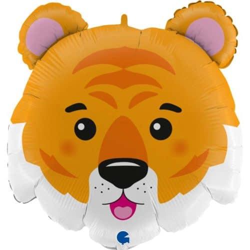 Шар 71 см Фигура Тигр Голова