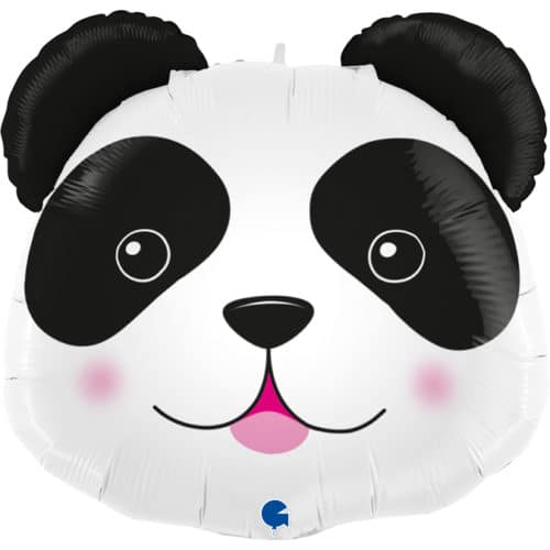 Шар 74 см Фигура Голова Милая Панда