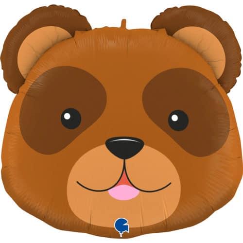 Шар 74 см Фигура Медведь Голова