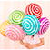 Фигурные шары на палочках