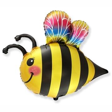 Шар 80 см Фигура Пчела весёлая