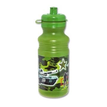 Бутылка спорт Камуфляж пластик 530 мл