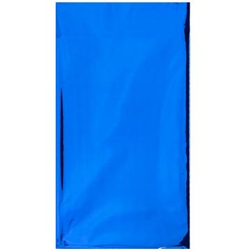 Скатерть фольга синяя 130 х 180 см