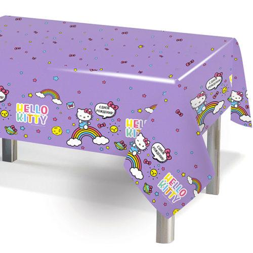 Скатерть Hello Kitty Сиреневый 120 х 180 см