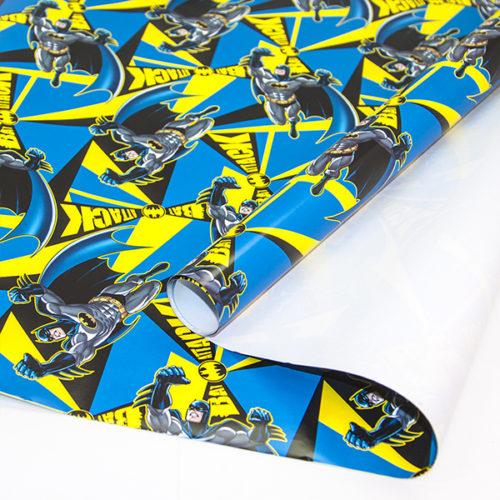 Упаковочная бумага 0,7 х 1 м Бэтмен 2 штуки