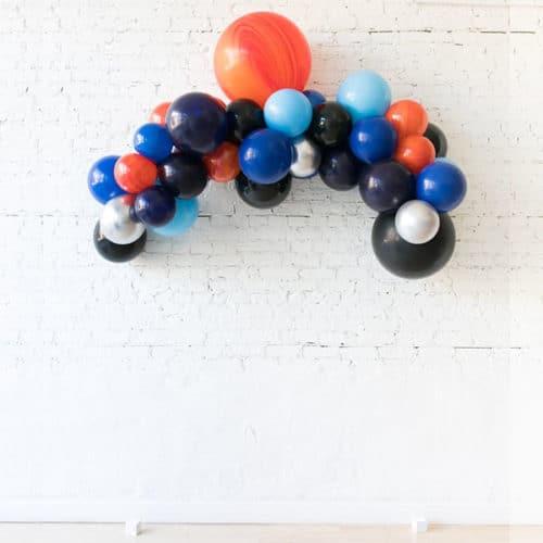Гирлянда из воздушных шаров Космический микс