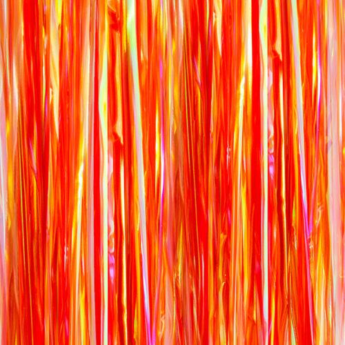 Занавес Дождик Хамелеон Красный Голография 100 х 200 см