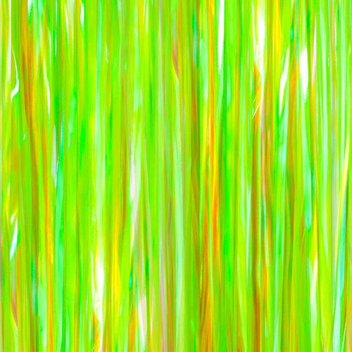 Занавес Дождик Хамелеон Светло-зеленый Голография 100 х 200 см