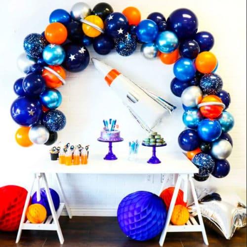Комплект из воздушных шаров Гирлянда и Ракета