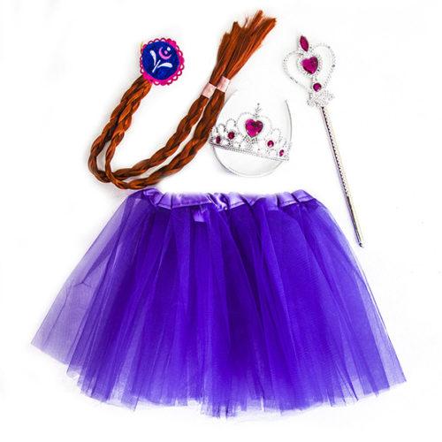Набор ободок косичка юбочка волшебная палочка Принцесса Алексия