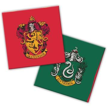 Салфетки 33 см Гарри Поттер герб 20 штук