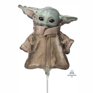 Шар 35 см Мини-Фигура Звездные Войны Малыш Йода