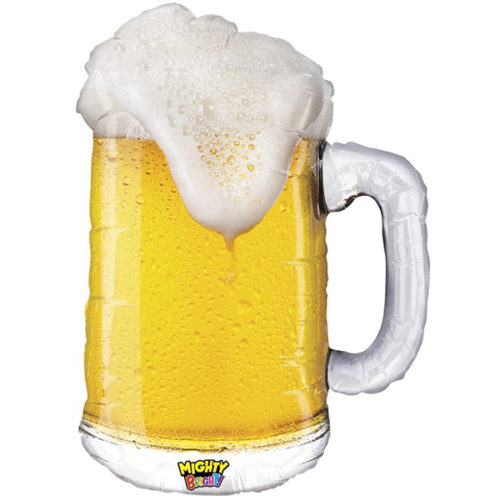 Шар 86 см Фигура Кружка пива
