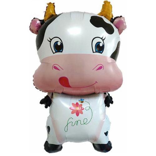 Шар 99 см Фигура Милая корова