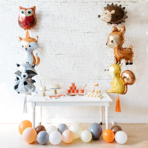 Комплект из шаров Шары на пол и шары фигурные Лесные друзья