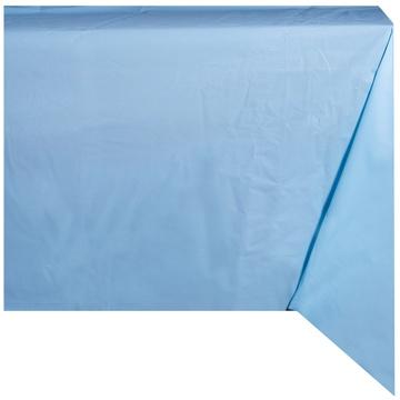 Скатерть п-э Пастель голубая 130 х 180 см
