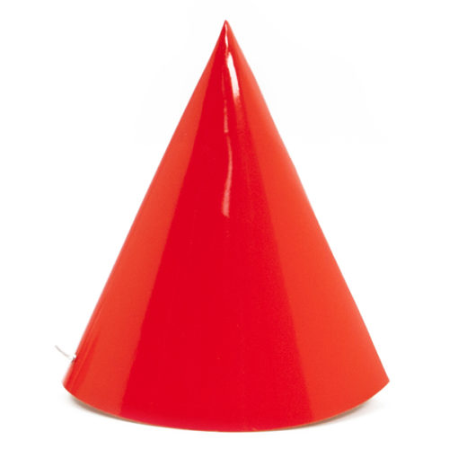 Колпаки Красный 6 штук