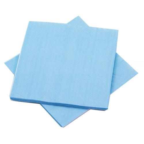 Салфетки Голубой 25 х 25 см 12 штук