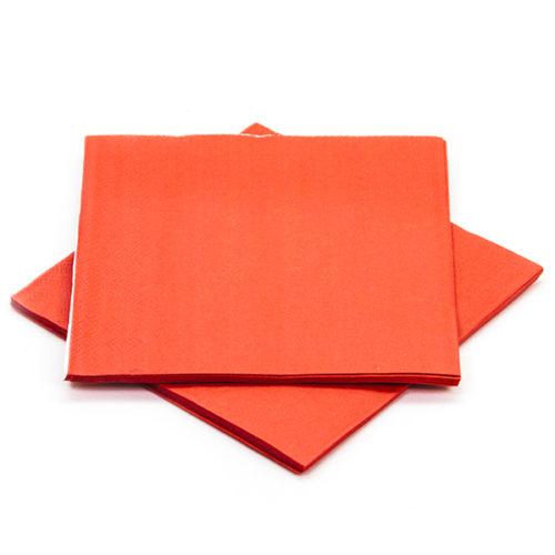 Салфетки Красный 25 х 25 см 12 штук