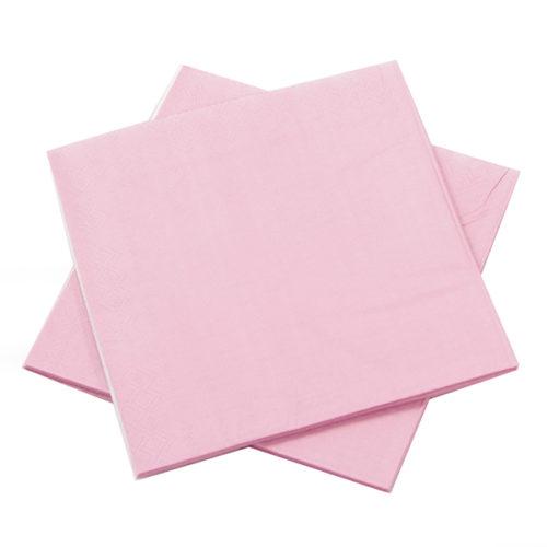Салфетки Розовый 25 х 25 см 12 штук