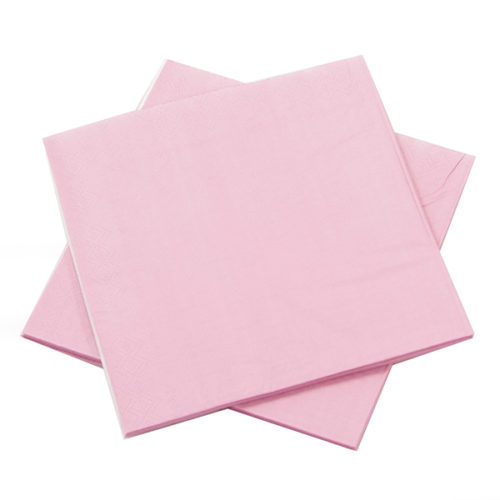 Салфетки Розовый 33 х 33 см 12 штук