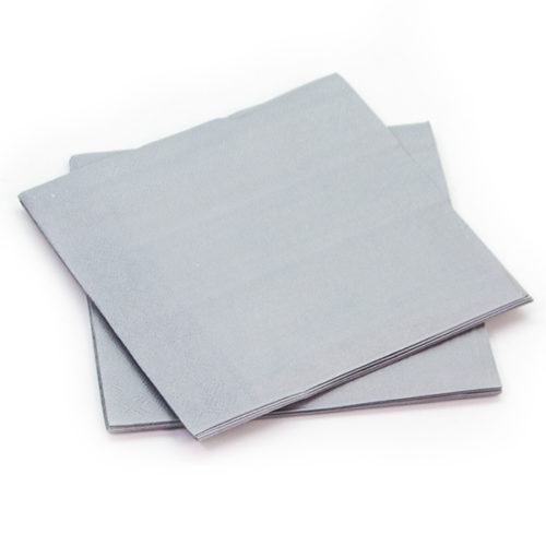 Салфетки Серебро 33 х 33 см 12 штук