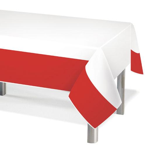 Скатерть ПЭТ Красный 137 х 183 см