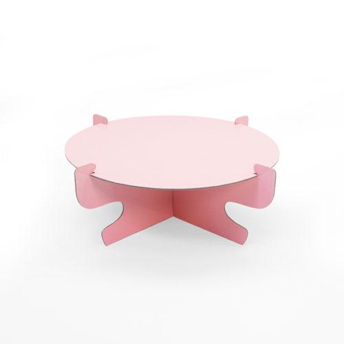 Стойка для торта 30 см Розовый