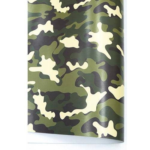 Упаковочная бумага 0,7 х 1 м Камуфляж 10 штук