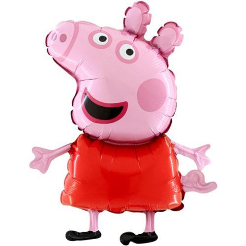 Шар 107 см Фигура Свинка Пеппа