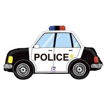 Шар 86 см Фигура Машина Полиция