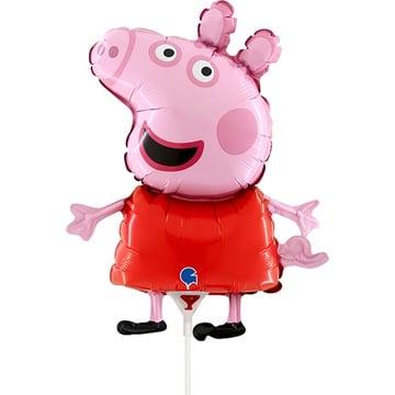 Шар 35 см Мини-фигура Свинка Пеппа