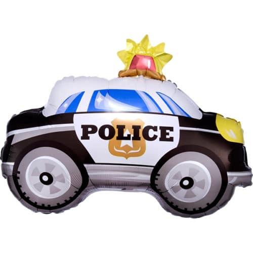 Шар 36 см Мини-фигура Полицейская машина