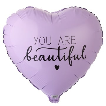Шар 46 см Сердце You Are Beautiful