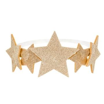 Ободок Звезды золотые блеск