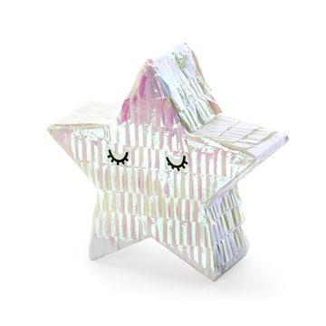 Пиньята Мини 10,5 см Звезда перламутр