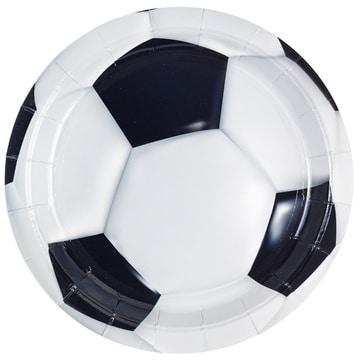 Тарелка 17 см Футбол 6 штук