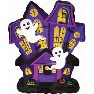 Шар 30 см Мини-фигура Дом с привидениями