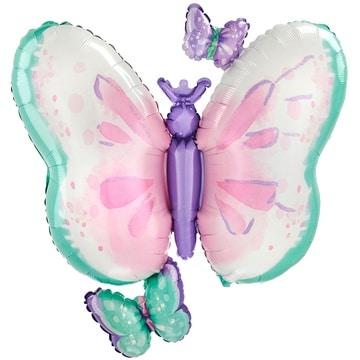 Шар 73 см Фигура Бабочки Нежные