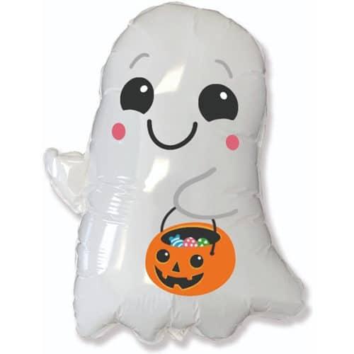 Шар 76 см Фигура Привидение на Хэллоуин