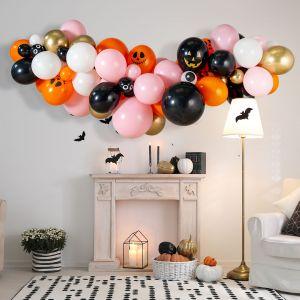 Гирлянда из разных шаров Гламурный Хеллоуин 2 метра