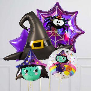Связка из 5 шаров Милая Ведьма